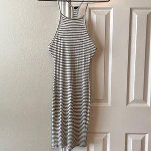 Razor back dress